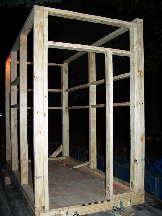 plan here ForBuilding Deer Blind Windows