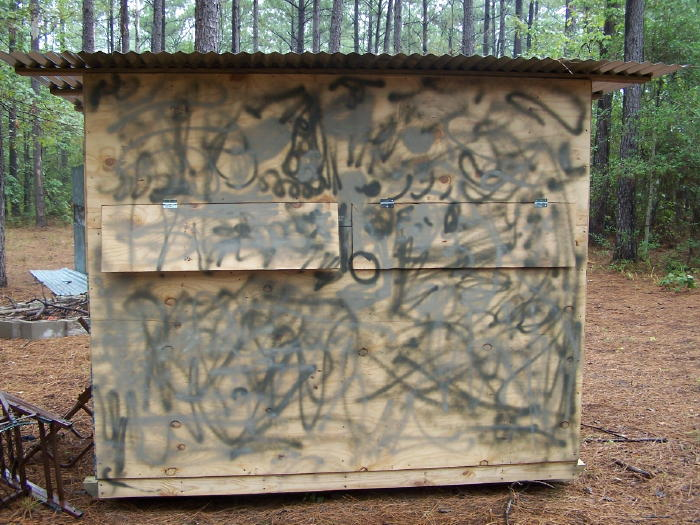 A DIY Guide On Building Box Blind Hunting Blind Deer