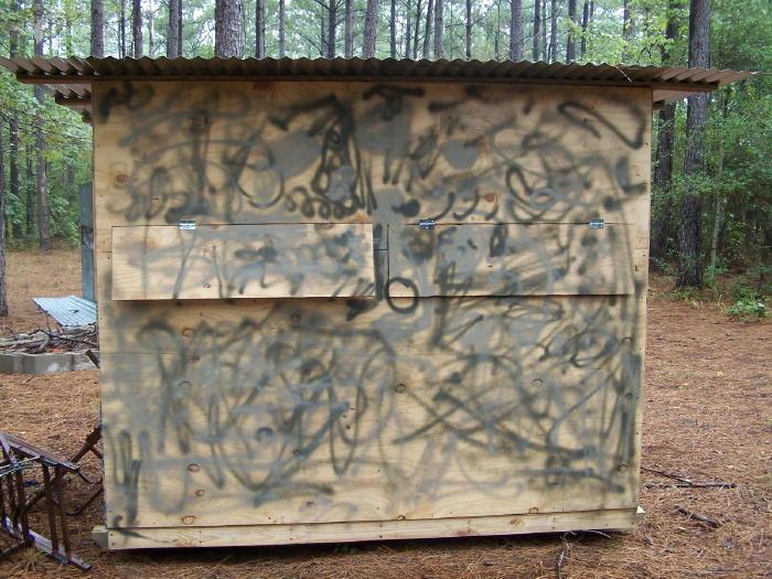 A DIY Guide On Building Box Blind Hunting Blind Deer