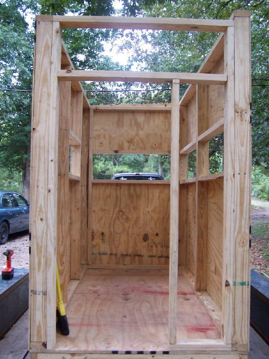 A diy guide on building a box blind hunting blind deer for How to build a deer blind